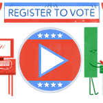 "Today's ""doodle turns Google's letters into voters, mailboxes and computers"""